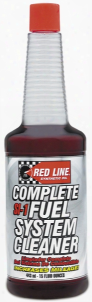 Red Line Si-1 Complete Fuel System Cleaner 15 Oz.