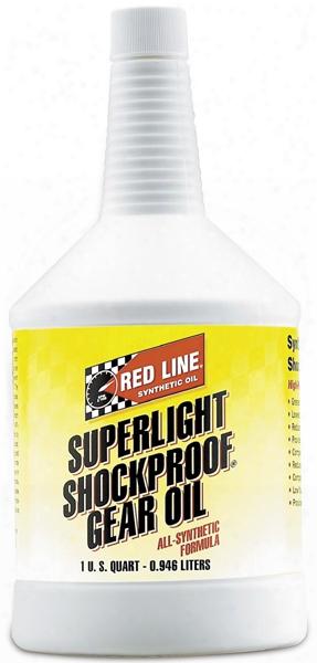 Red Line Super Light Shockproof Gear Oil 1 Qt.