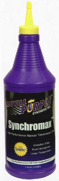 Royal Purple Synchromax Manual Transmission Fluid