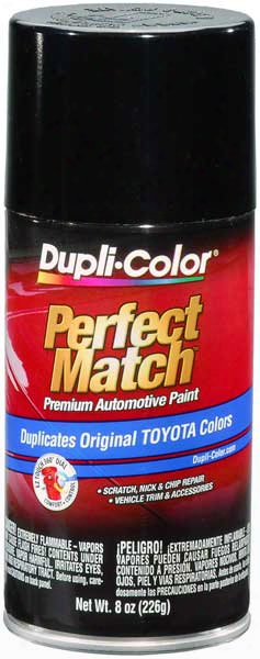 Scion & Toyota Metallic Black Auto Spray Paint - 204 1996-2014