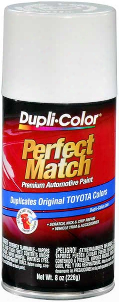Scion & Toyota Super White Ii Auto Spray Paint - 040 1985-2014
