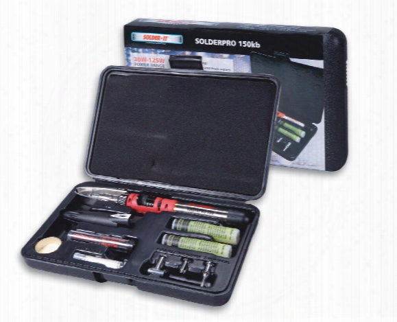 Solderpro 150 Automatic Ignition System Soldering Iron / Torch Multifunction Tool