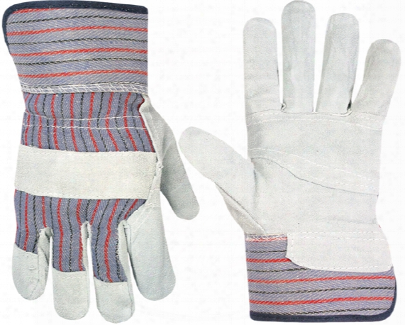 Split Leather Safety Gloves