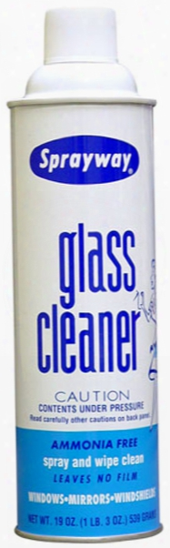 Sprayway Aerosol Glass Cleaner 19 Oz.