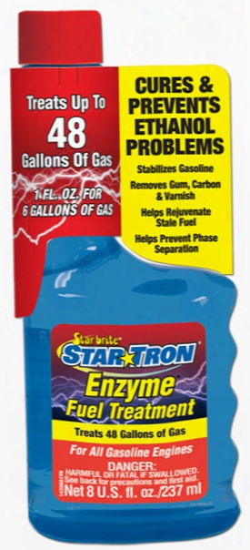 Star Tron Enzyme Fuel Treatment 8 Oz