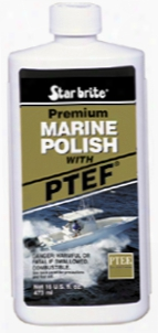 Starbrite Premium Marine Polish Boat Wax With Ptef 16 Oz.