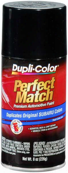 Subaru Obsidian Black Pearl Auto Spray Paint - 32j 2004-2014