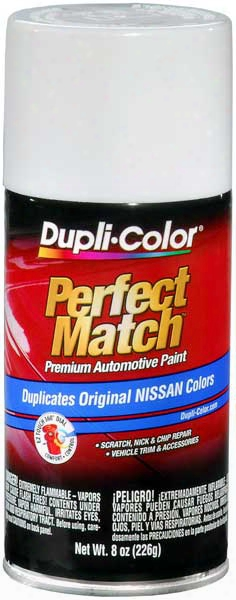 Super White For Infiniti & Nissan Auto Spray Paint - 326 1986-1996