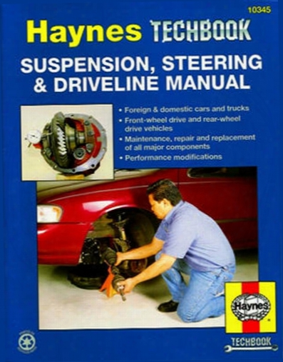 Suspension Steering & Driveline Haynes Techbook