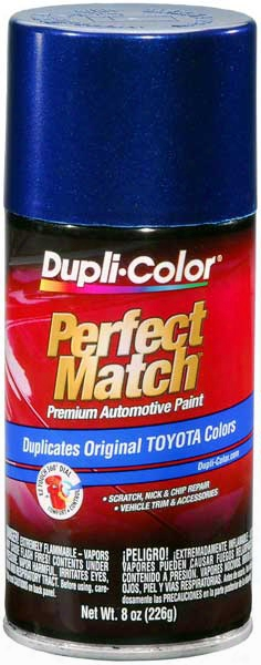 Toyota Stellar Blue Pearl Auto Spray Paint - 8l7 1996-2002