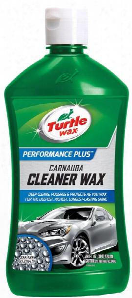 Turtle Wax Carnauba Cleaner Liquid Wax 16 Oz.