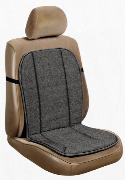 Tweed Knit Foam Seat Cushion