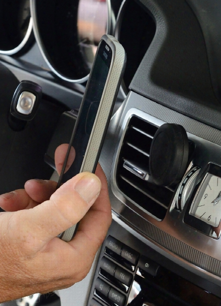 Vent Mounted Magnetic Smartphone Holder
