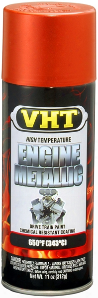 Vht High-temp Engine Fire Engine Red Metallic Paint 11 Oz.