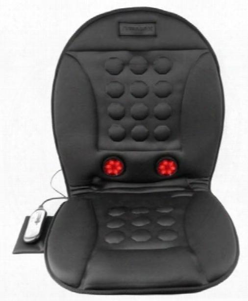 Wagan Infrared Heated & Massaging Seat Cushion