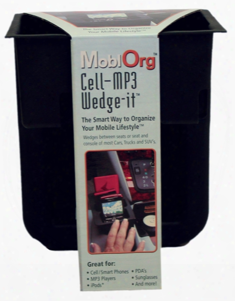 Wedge-it Cellphone & Mp3 Holder