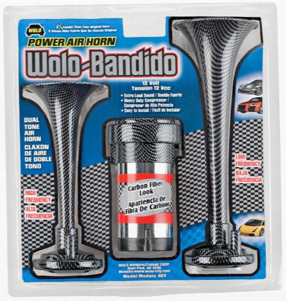 Wolo Bandido Carbon Fiber Air Horn