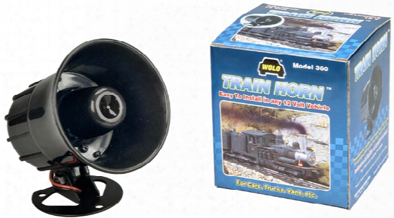 Wolo Electronic Train Horn