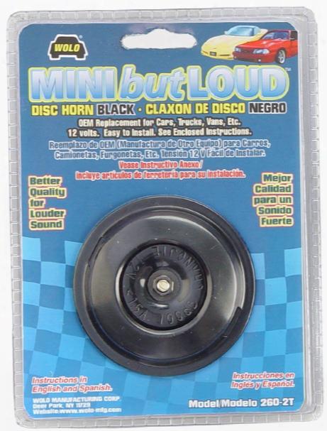 Wolo Mini But Loud Disc Horn