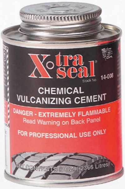 Xtra-seal Chemical Vulcanizing Cement 8 Oz.