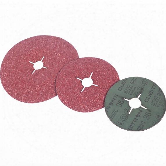 3m 55073 982c Cubitron Ii Fibre Disc 125mm X 22mm 36+