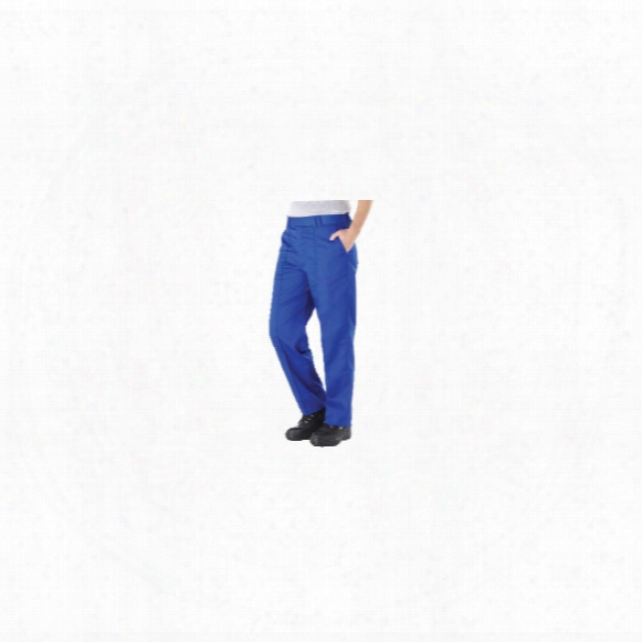 Benchmark Trousers T24 Classic Ladies Blue Trousers - Size 18