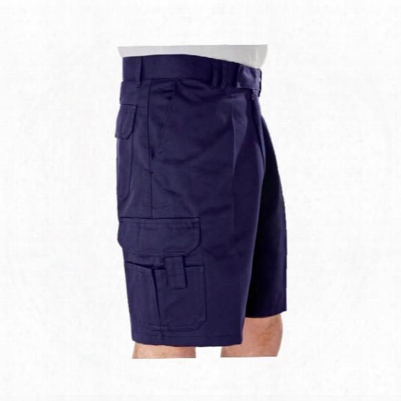 Benchmark Trousers T32 Men's Cargo Navy Shorts - 28