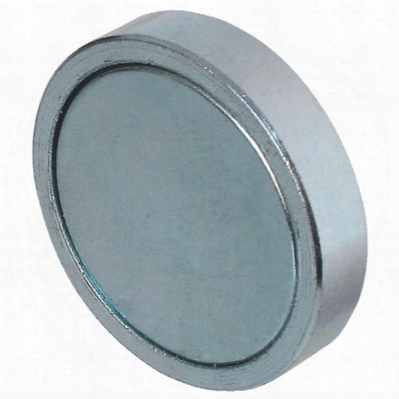 Eclipse Magnetics E766neo/c Shallow Neodymium Magnet 25x7mm (2)