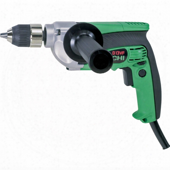 Hitachi Power Tools D13vf 710w 13mm Keyless Chuck Rotary Drill 240v