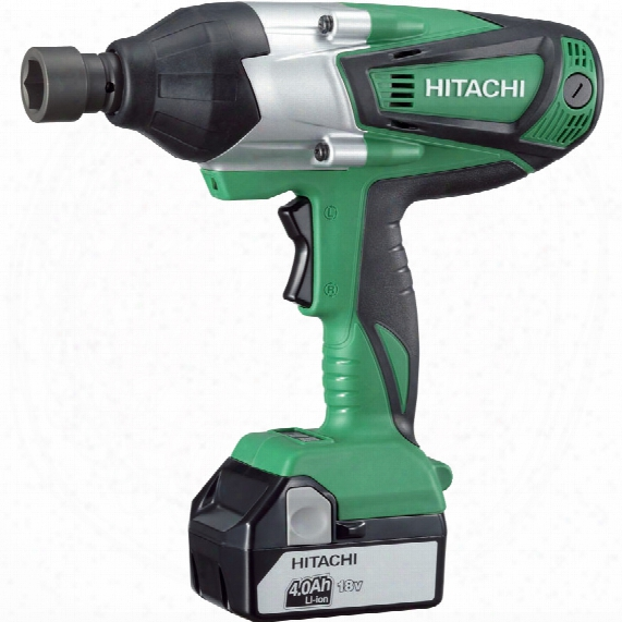 Hitachi Power Tools Wr18dshl/jj 18v Hi Torq I Mp. Wrench 2x5.0ah Li-ion