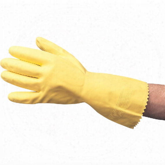 Polyco S06 Swift Houshold Rubber Gloves Yellow 9-9.1/2