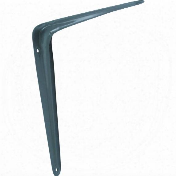 Matlock 250mmx200mm Grey London Pattern Shelf Bracket Pk-2