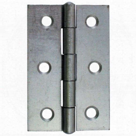 Matlock 75mm Light Narrow Butt Hinges S/colour (pr)