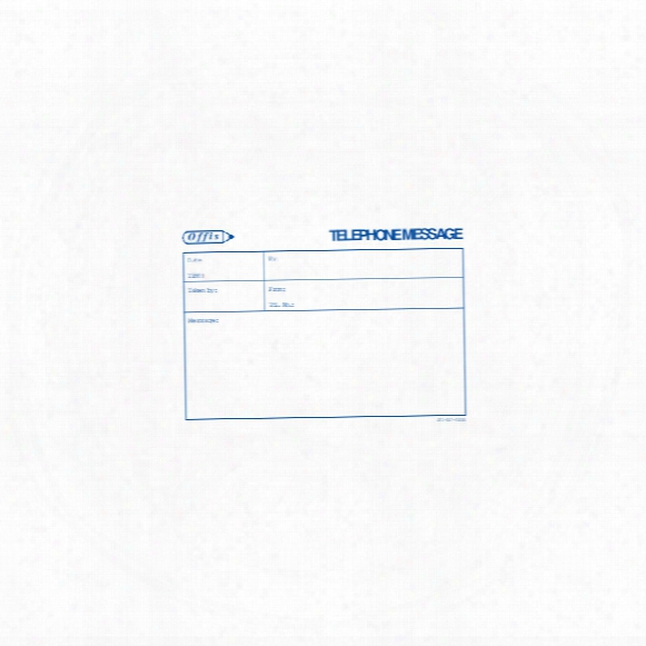 Offis Telephone Message Pad (100 Sheets)