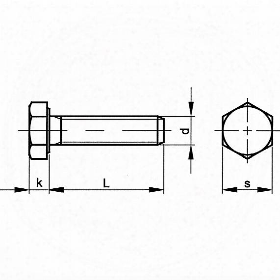 Qualfast M10 X 25 Hex Head Set Bzp(10.9) - Pack Of 200