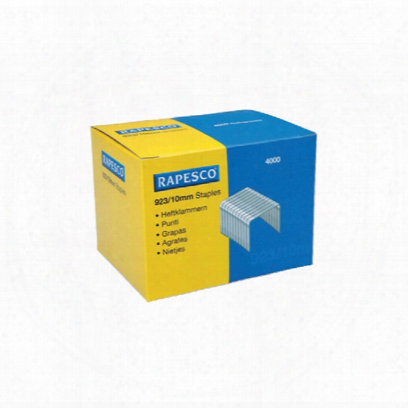 Rapesco 23/10mm Staples (box-4000)