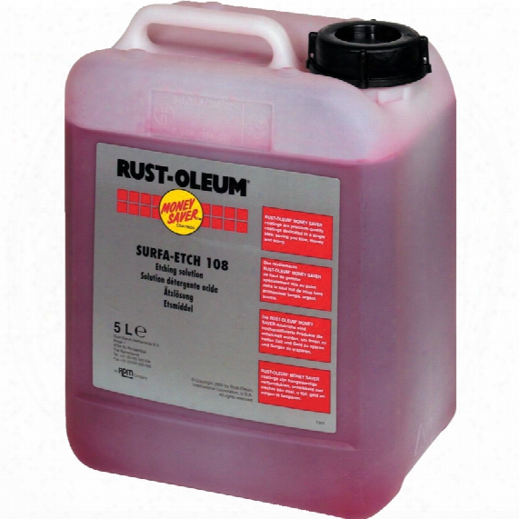 Rust-oleum 108.5 Etching Solution 5ltr