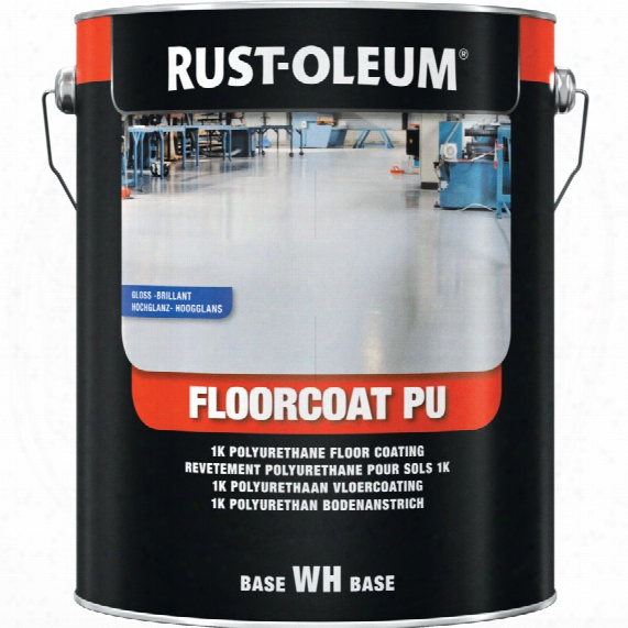 Rust-oleum 7281 Floorcoat Pu Light Grey Gloss 5l Ral7035