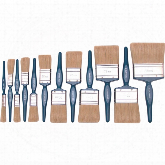 Senator Diy Decorators Paint Brushes (set-12)