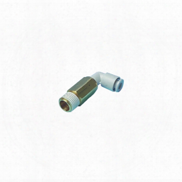 Smc Kq2w08-02as 8mm X 1/4 Extedned Male Elbow