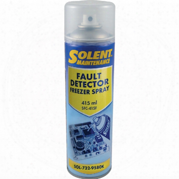 Solent Maintenance Fault Detector Freezer Spray 415ml