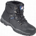 Himalayan 5200 Black Safety Boots - Size 8