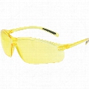 Honeywell A700 Amber Hardcoat Lens Safety Specs