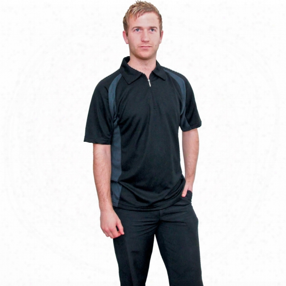 Tuffsafe Function Dri-cool Black T-shirt - Size S