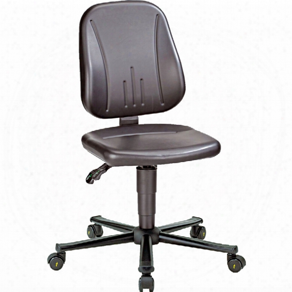 Bimos Esd Unitec 2 Low Chair Black With Castors