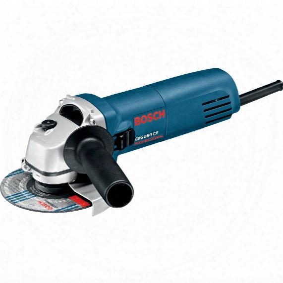 """Bosch Gws 850 C 4.1/2"""" 850w Grinder + Diamond Blade 110v"""
