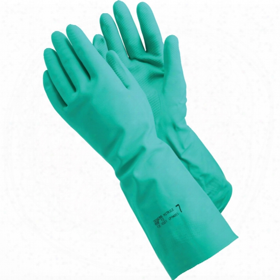 Ejendals 48 Tegera Green Nitrile Coated Glove 45cm Size 10