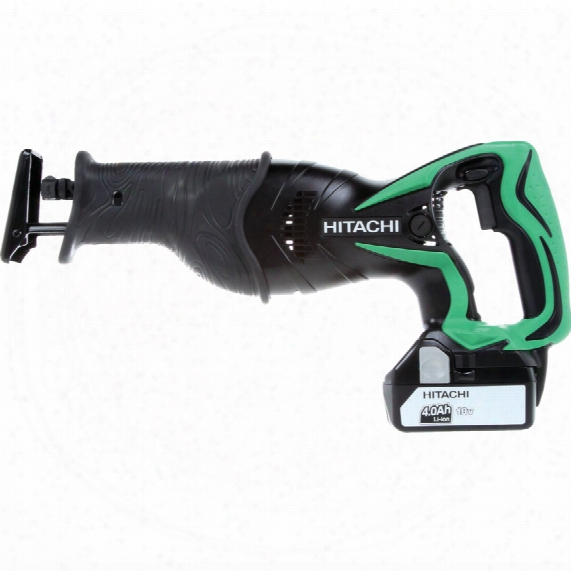 Hitachi Power Tools Cr18dsl/w4 18v Reciprocating Saw Body Only