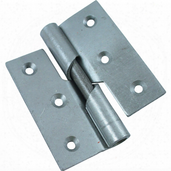 Matlock 75mm Rising Butt Hinges S /colour Left Hand (pr)