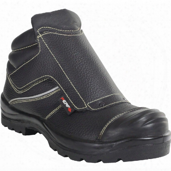 Perf Pb94c Men's Black Welders Safety Boots - Size 13
